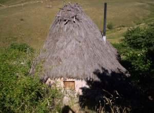 Refugio para pastores, una arquitectura muy curiosa de cabaña.