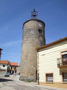 Torre del Reloj de Alcañices. En el Medievo este pueblo estaba amurallado.