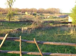 Vista del pueblo de Ceadea