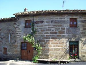 Una casa típica de Villardeciervos, pueblo que prosperó gracias al contrabando con Portugal de diversas materias